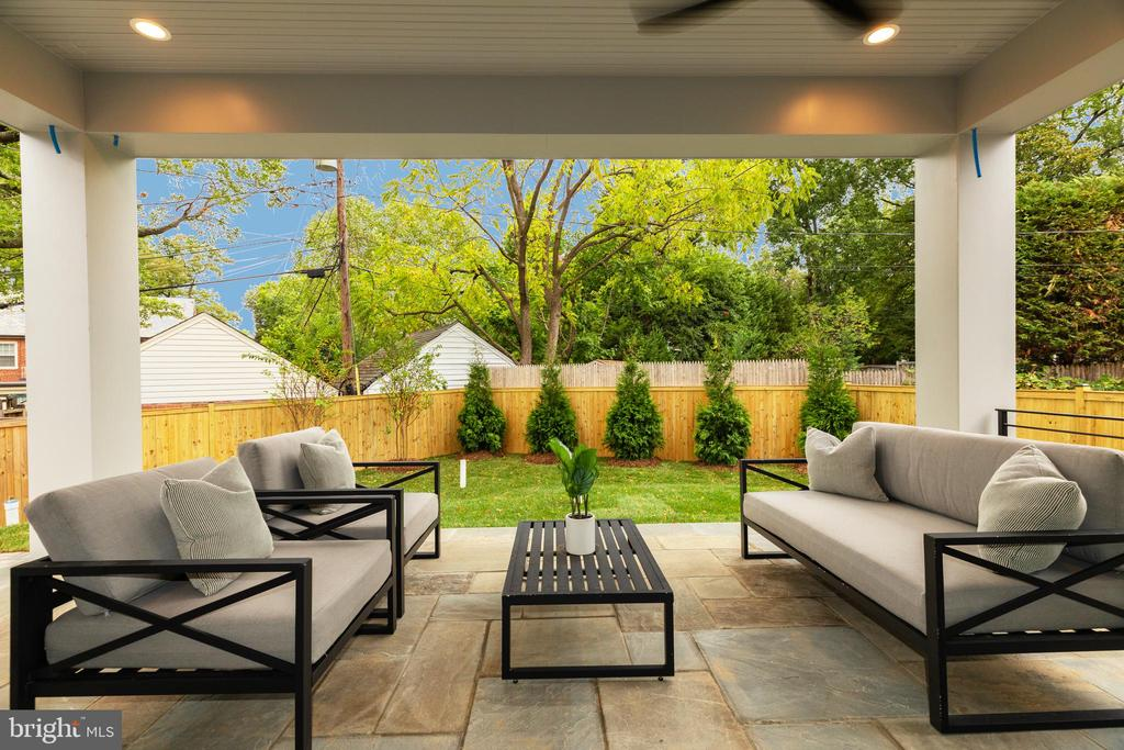 First of two outdoor living spaces - 3127 18TH ST N, ARLINGTON