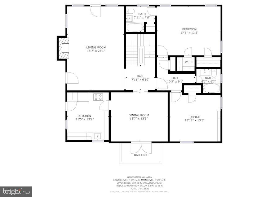 2nd Floor Layout - 2618 30TH ST NW, WASHINGTON