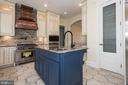 Gourmet Kitchen with Pantry - 15435 BARNESVILLE RD, BOYDS