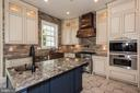 Gourmet Kitchen with Top-Of-The-Line Appliances - 15435 BARNESVILLE RD, BOYDS