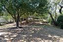 Back yard - 4814 WILBY CT, ALEXANDRIA