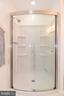 2nd bath custom shower. - 4814 WILBY CT, ALEXANDRIA