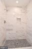Master bath shower. - 4814 WILBY CT, ALEXANDRIA
