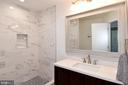 Master bath. - 4814 WILBY CT, ALEXANDRIA