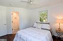 Master bedroom. - 4814 WILBY CT, ALEXANDRIA