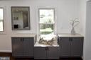 Custom cabinets. - 4814 WILBY CT, ALEXANDRIA
