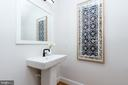 Powder Room - 1327 D ST SE, WASHINGTON