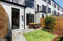 Charming Patio off of Living Room - 1327 D ST SE, WASHINGTON