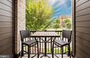 Balcony - 3507 BELLFLOWER LN #5, ROCKVILLE