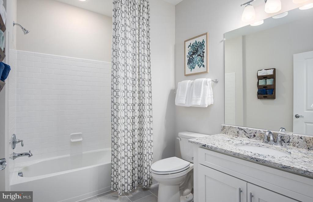 Secondary Bathroom - 3507 BELLFLOWER LN #6, ROCKVILLE