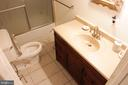 Lower Level Bathroom - 4269 FOOTE ST NE, WASHINGTON