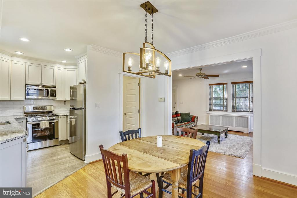 Separate Dining Room - 4417 BRADLEY LN, CHEVY CHASE