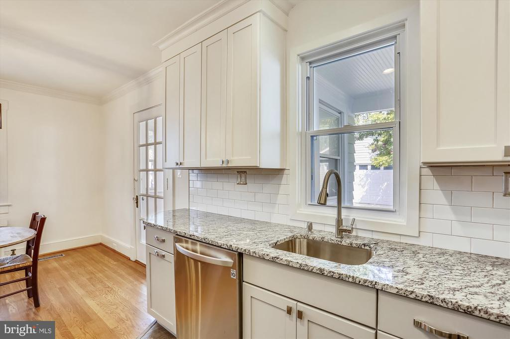 NEW kitchen cabinets, sink and hardware - 4417 BRADLEY LN, CHEVY CHASE
