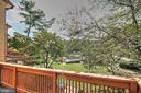 Deck overlooking Lake - 2031 LAKEWINDS DR, RESTON