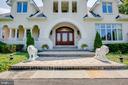 Elegant front entrance - 40843 ROBIN CIR, LEESBURG