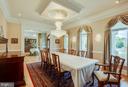 Elegant dining room - 40843 ROBIN CIR, LEESBURG
