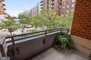 Larger Balcony for Furniture and Plants! - 3600 S GLEBE RD #222W, ARLINGTON