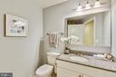 Main Bath  with Granite and Storage! - 3600 S GLEBE RD #222W, ARLINGTON