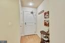 Welcoming Entry for your Guests! - 3600 S GLEBE RD #222W, ARLINGTON