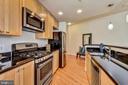 Gourmet Kitchen has Stainless Steel Appliances! - 3600 S GLEBE RD #222W, ARLINGTON