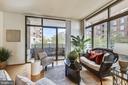 Walls of Windows and TWO Balconies! - 3600 S GLEBE RD #222W, ARLINGTON