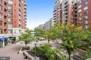 Great View of Courtyard from Larger Balcony! - 3600 S GLEBE RD #222W, ARLINGTON