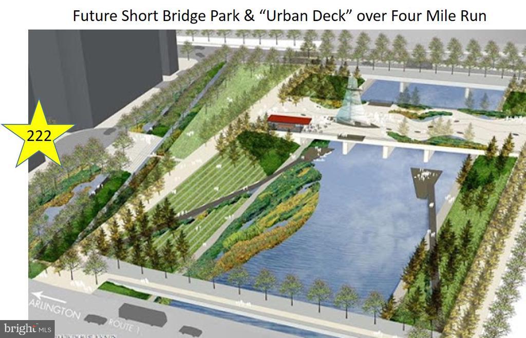 Future Plans to improve Lot next door! - 3600 S GLEBE RD #222W, ARLINGTON