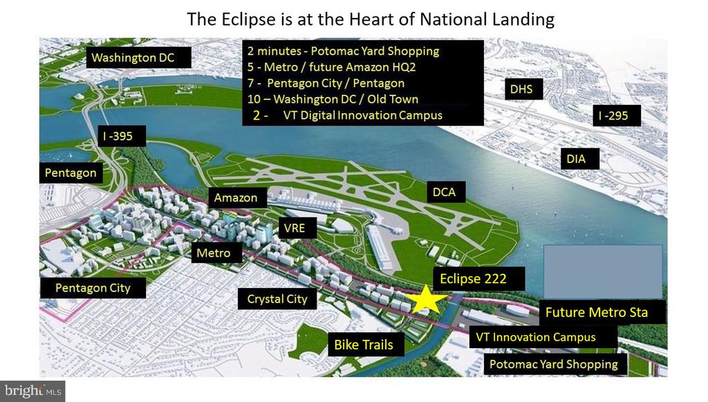 The Eclipse is in the Epicenter of Amazon HQ2 - 3600 S GLEBE RD #222W, ARLINGTON