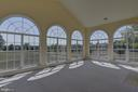 Solarium  with 2 sided fireplace - 42144 HEATERS ISLAND CT, LEESBURG