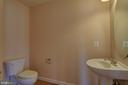 1/2 Bathroom Main Level - 42144 HEATERS ISLAND CT, LEESBURG