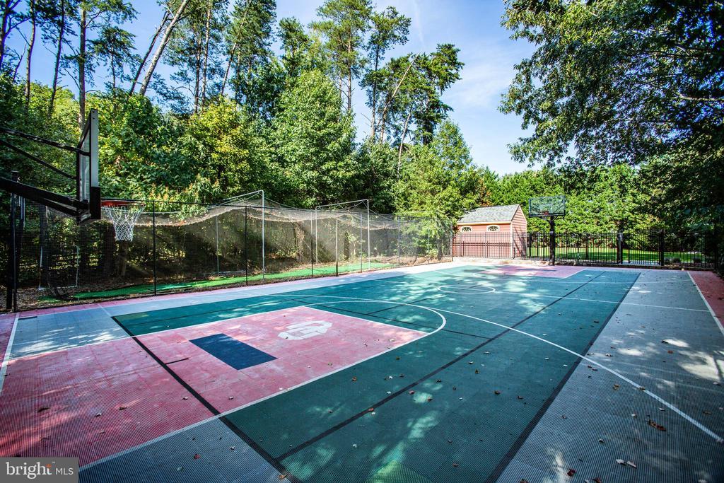 Sport court - tennis or basketball - 112 CARROLL CIR, FREDERICKSBURG