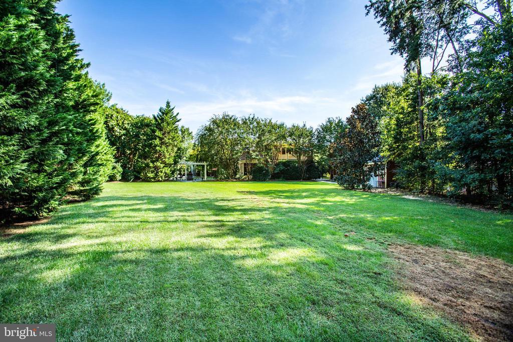 Huge backyard! - 112 CARROLL CIR, FREDERICKSBURG