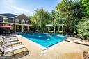 Water spouts into pool - relaxing and fun - 112 CARROLL CIR, FREDERICKSBURG