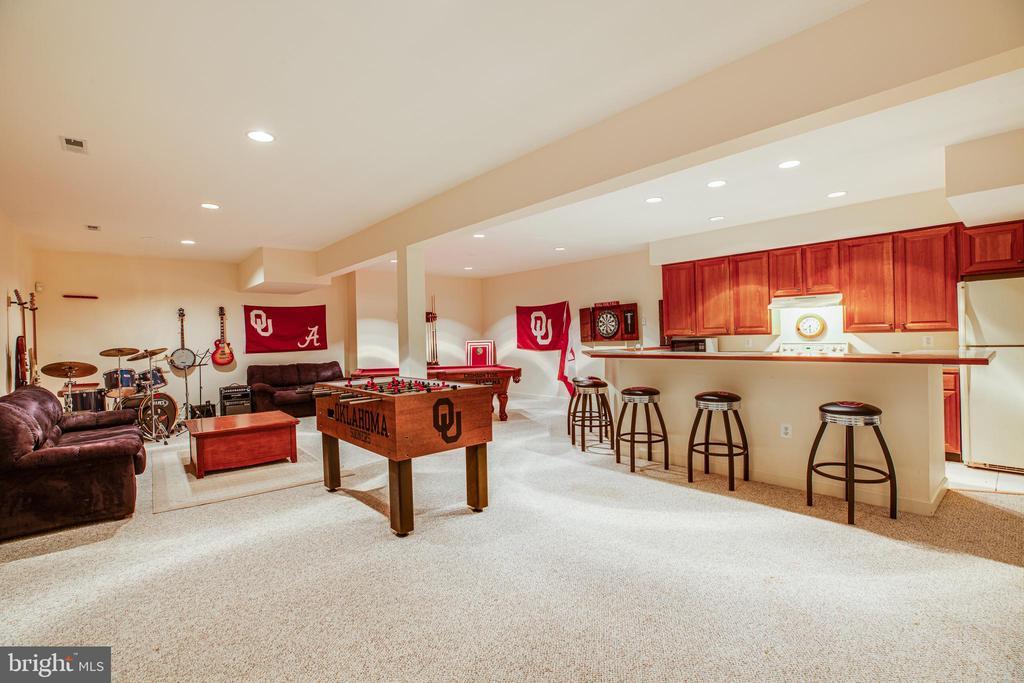 Game room area and 3rd kitchen! - 112 CARROLL CIR, FREDERICKSBURG