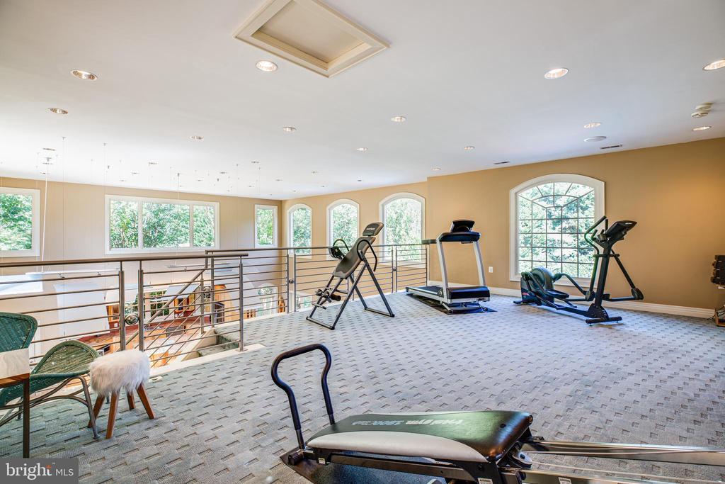 Loft Exercise room - 112 CARROLL CIR, FREDERICKSBURG