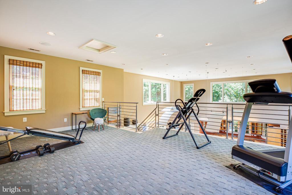 Loft / exercise room - 112 CARROLL CIR, FREDERICKSBURG