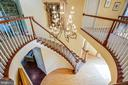 Beautiful round hall / staircase - 112 CARROLL CIR, FREDERICKSBURG