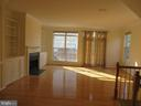 LARGE LIVING ROOM WITH HARD WOOD FLOORS - 336 CAMERON STATION BLVD, ALEXANDRIA