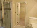 SEPARATE SHOWER IN MBR BATH - 336 CAMERON STATION BLVD, ALEXANDRIA