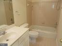 FULL BATH IN 4TH LEVEL BEDROOM - 336 CAMERON STATION BLVD, ALEXANDRIA