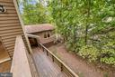 Wrap around decking with view of garage - 903 EASTOVER PKWY, LOCUST GROVE