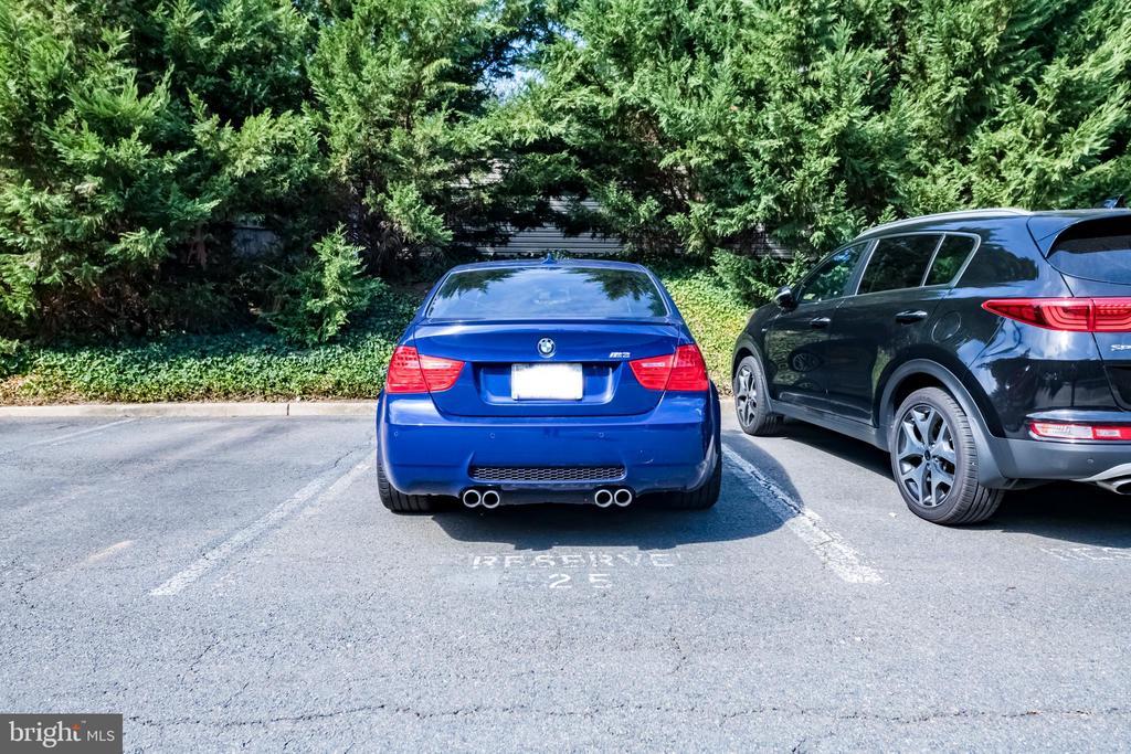 One assigned parking spot - 1849 N UHLE ST #1, ARLINGTON
