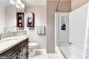 En-suite bath - 1849 N UHLE ST #1, ARLINGTON
