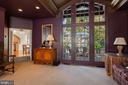 Family Room with Windows to Lush Backyard - 2848 MCGILL TER NW, WASHINGTON