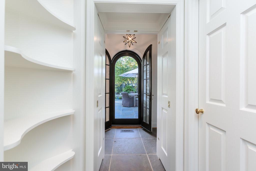 Arched Entry to Backyard - 2848 MCGILL TER NW, WASHINGTON