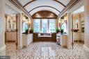 Master bathroom- Her bath on Right, His on Left - 733 N SPRING MILL RD, VILLANOVA