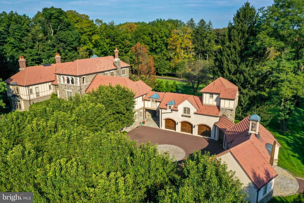 Exceptional grounds - 733 N SPRING MILL RD, VILLANOVA