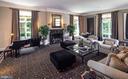 Art Deco inspired Living Room, soaring ceilings - 733 N SPRING MILL RD, VILLANOVA