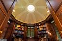 Domed ceiling with natural light from above - 733 N SPRING MILL RD, VILLANOVA