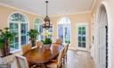 Breakfast Room with Palladian windows and arches - 733 N SPRING MILL RD, VILLANOVA